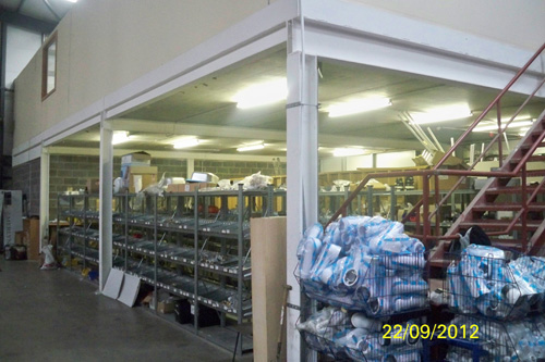 commercial building supply and erection services